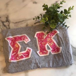 Sigma Kappa Lily Stitch